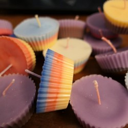 Bougies cupcake - Cire...